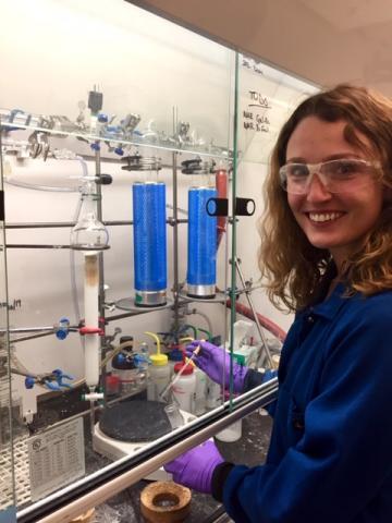 Anna Deleray, ARCS Utah Scholar